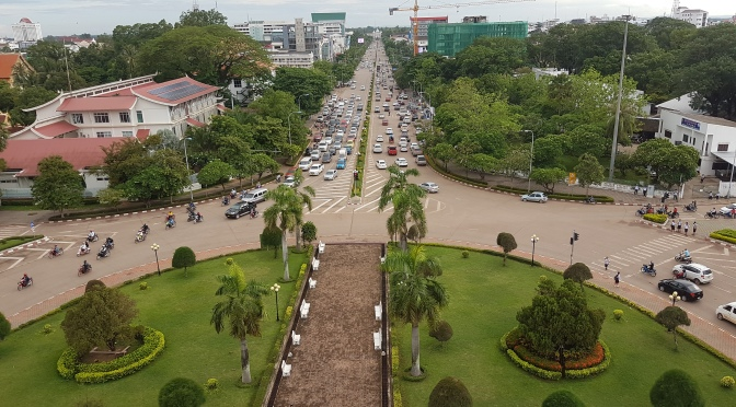Delays In Vientiane